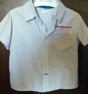 Рубашки на мальчика,74-80 рост