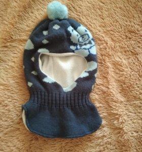 Шлем зимний для мальчика 48-50р.