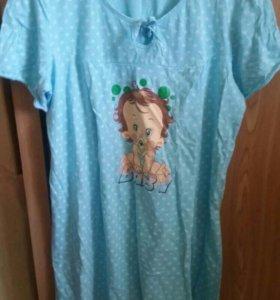 Ночная рубашка для кормящих мам