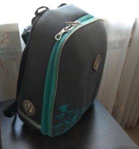 Рюкзак школьный oxford Серый / бирюза