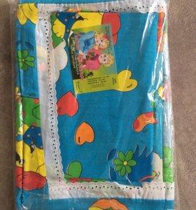 Комплект детского постельного белья, новый