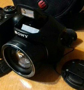 Фотоаппарат sony + чехол