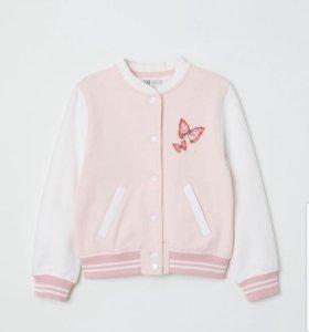 Бомбер для девочки H&M