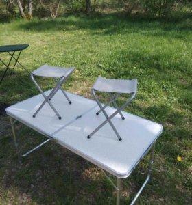 Туристический набор стол+4 стула