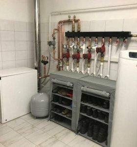 Установка, ремонт, АОГВ,котлов,газовых колонок.