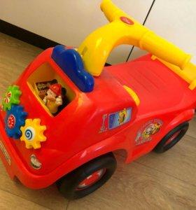 Машинка-Каталка «Микки Маус»