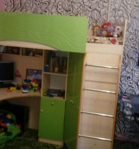 Детская кровать - чердак