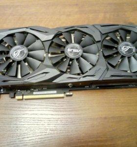 Видеокарта Asus GeForce STRIX-GTX1070-O8G-GAMING