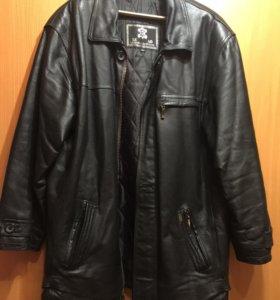 Куртка деми из экокожи 56 р