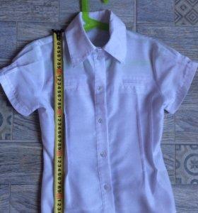 Белая блузка б/у