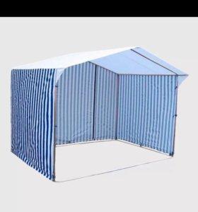 Торговая палатка в хорошем состоянии