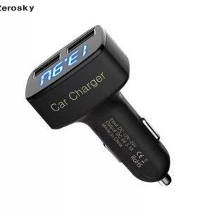 Автомобильное Зарядное устройство, 4 в 1 3.1А usb
