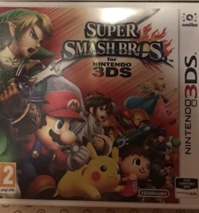 Продам игру Super Smash Bros для Nintendo 3DS