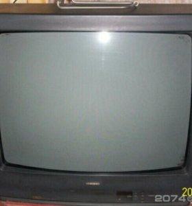 "Телевизор SAMSUNG CW-5052X 21"" рабочий,СРОЧНО!"