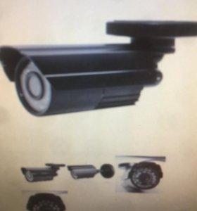 Уличные видеокамеры новые 5 штук