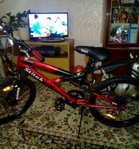 """Новый подростковый велосипед Stitch 20"""""""