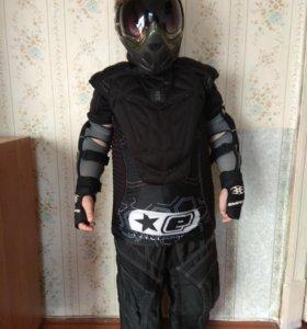 Комплект защиты для пейнтбола детский на 10 лет