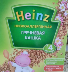 Каша Heinz Гречневая 200гр.