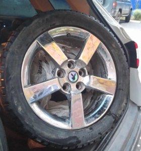 Зимние колёса Bridgestone Ice Cruiser. r17 5*114,