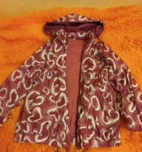 Куртка легкая р 128