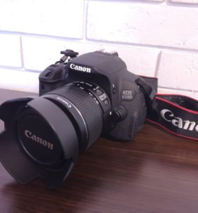 Canon 650D + объектив EF-S 18-55mm
