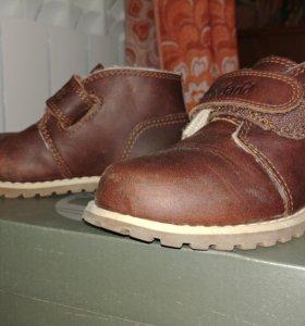 Новые осенние ботинки Timberlend