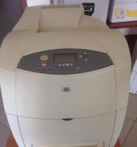 Цветной лазерный принтер HP color laserjet 4650 dn