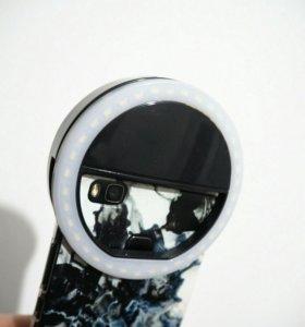 Кольцо на телефон/ Свет для селфи