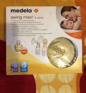 электронный молокоотсос Medela swing maxi & calm