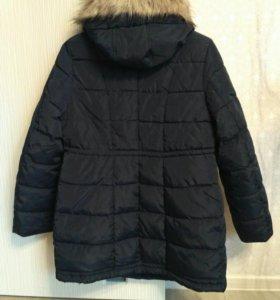 Зимняя куртка для беременных hm б/у