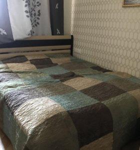 Кровать двуспальная с подъемным механизмом