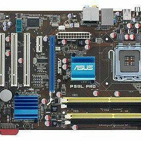 Asus p5ql pro + q9300 6гб озу