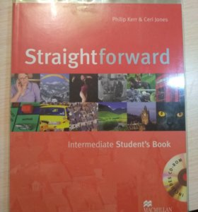 Straightforward Intermediate учеб.+раб.тетр.+ 2CD
