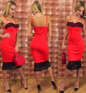 Эксклюзивное платье. Размер 42-44
