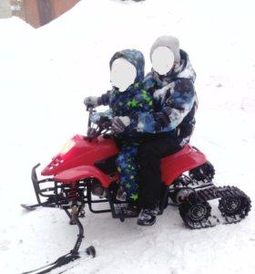Снегоход детский