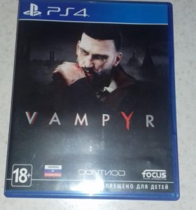 Игра vampyr PS 4
