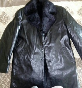 Куртка меховая зимняя