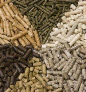 Древесные гранулы(пеллеты)
