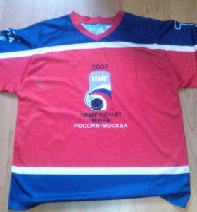 Футболка ЧМ 2007