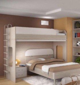 Продается кровать-чердак Рио Мебель Москва