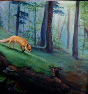 Картина 40х60, масляные краски.