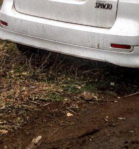 Губа задняя Toyota Spacio.