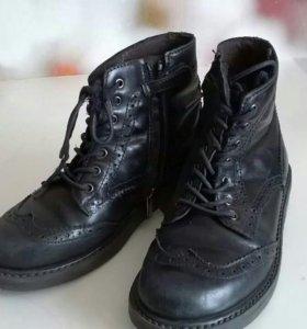 Ботинки кожа 33р