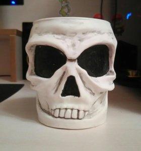 Кружка череп