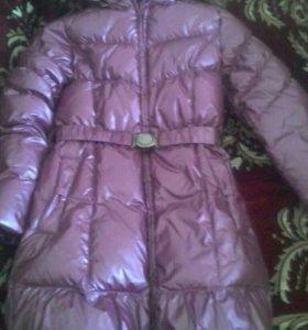 Удлинёная зимняя куртка.