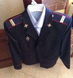 Пиджак полицейский