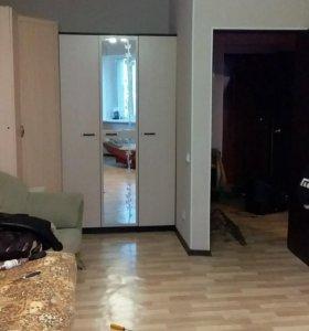 Квартира, 1 комната, 39.5 м²