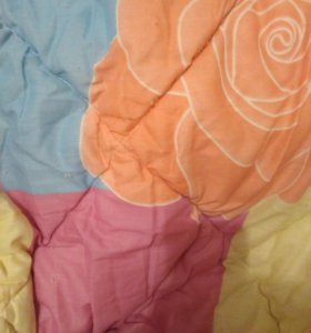 2-х спальное одеяло, овечья шерсть 100 %