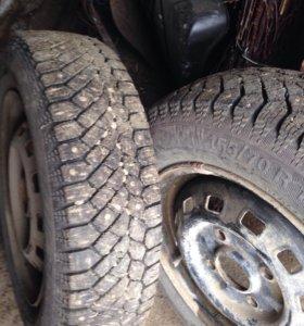 NORD*FROST 2 колеса в комплекте с дисками
