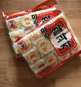 Рисовое печенье